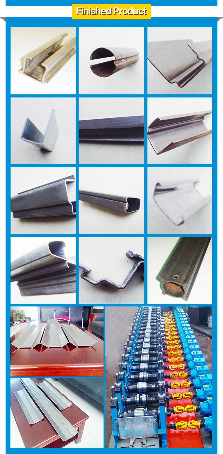 Superior steel high efficient high speed steel highway guardrail roll former