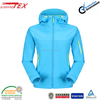 Latest blue designs brand oem softshell jackets for women