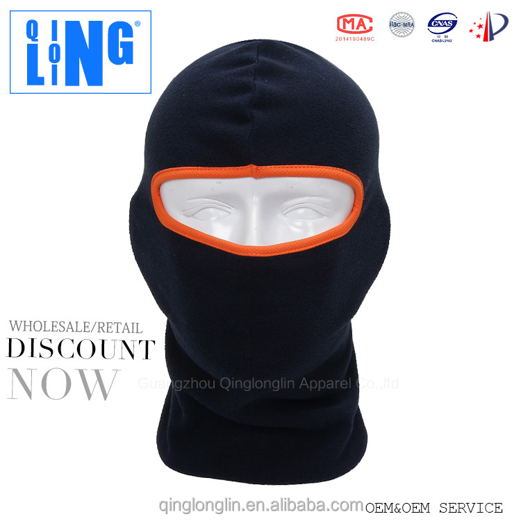 Balaclava Motorcycle Polar Fleece Winter Ski Hat Mask Neck Gaiter Motorcycle Full Face Balaclava Hats