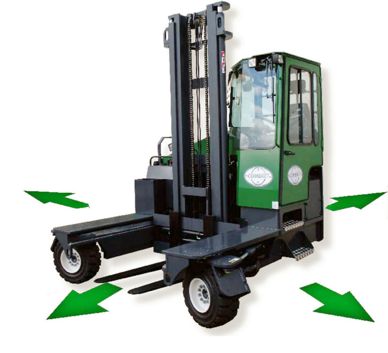 C5000XL MULTI DIRECTIONAL FORKLIFT, POWERED BY KUBOTA DIESEL ENGINE, CAPACITY 5000KG @600MM LOAD CENTRE, MAX. LIFT HEIGHT- 4040M