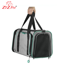 ZYZ new model pet dog carrier pet carrier airline approved pet shopping bag