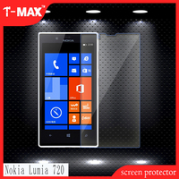 Best Quality High Clear Shockproof 0.3mm 2.5D Tempered Glass Screen Protector for Nokia Lumia720