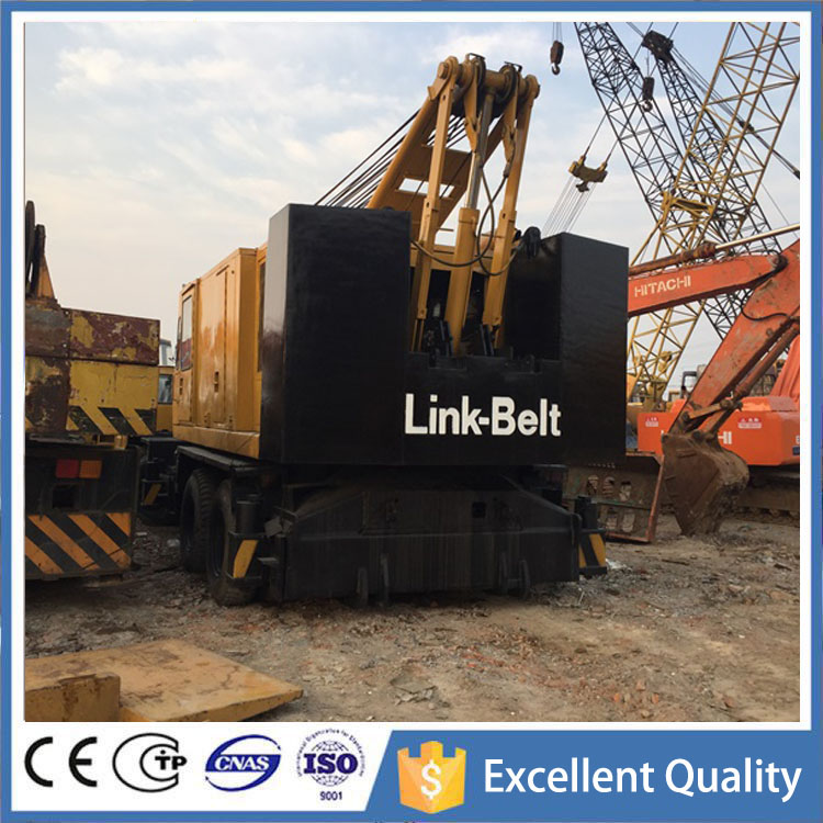 America Link-Belt Used Truck Crane 50 Ton With Lattice Boom Crane