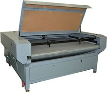 Double heads auto feeding laser cutting for clothes,leathers,fabrics(SUNY-1810)