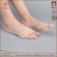Hot Sell High Quality new 2 silicone toe crests pad cushion pain relief metatarsal corn hammer toes