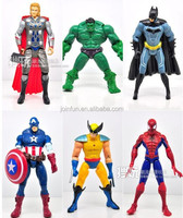 Movable pvc Action Figure Toys High quality movable super hero custom action figure Vinyl super hero 3d movable action figure