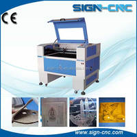 2014 Hot sale price CNC 9060 baseball bat laser engraving machine