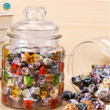 votive glass bottles/mini decorative glass jars