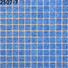 Factory sales type 2507-7(25X25)mm tiles glass mosaic