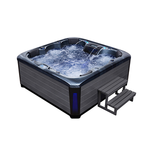 SMBR-693 13 color available Top manufacturer 4 person hot tub spa cheap whirlpool bathtub