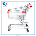 Hot sale supermarket shopping trolley with asia style