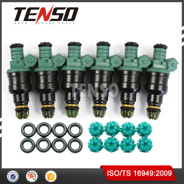 For BMW 3.0L M3 2.5L 323 525 BOSCH 0280150415 Fuel Injector Repair Service Kit