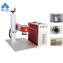 Pet id tag table top optical 20w metal fiber laser marking machine for sale
