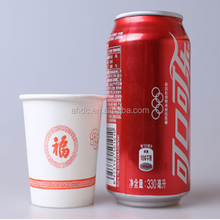 High quality 12oz &14oz 16oz single wall custom printed disposable paper coffee cups