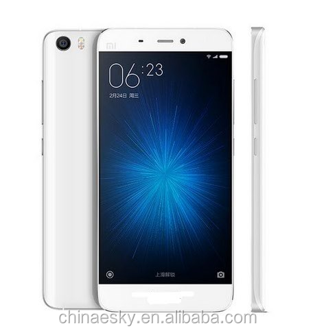 Original cheapest phone Xiaomi Mi5 Mi 5 5inch Quad Core Qualcomm Snapdragon820 1920X1080 China brand xiaomi phone smart phone