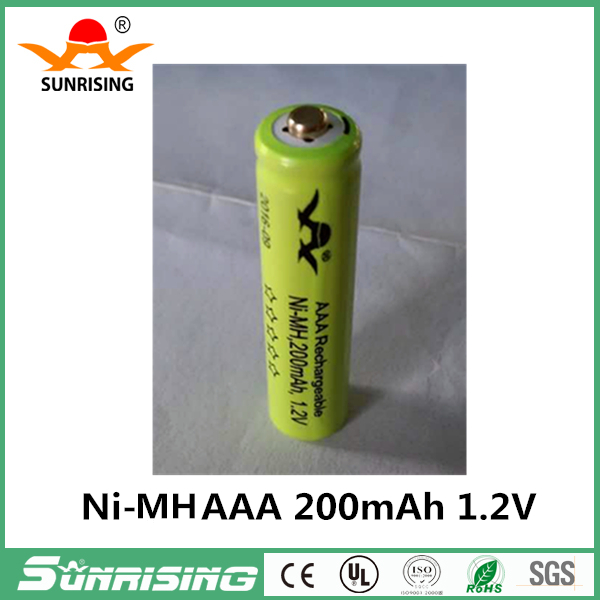Ni-MH AAA 200mAh Pre-Charged 1.2V Rechargeable Battery 3A Neutral Bateria Baterias