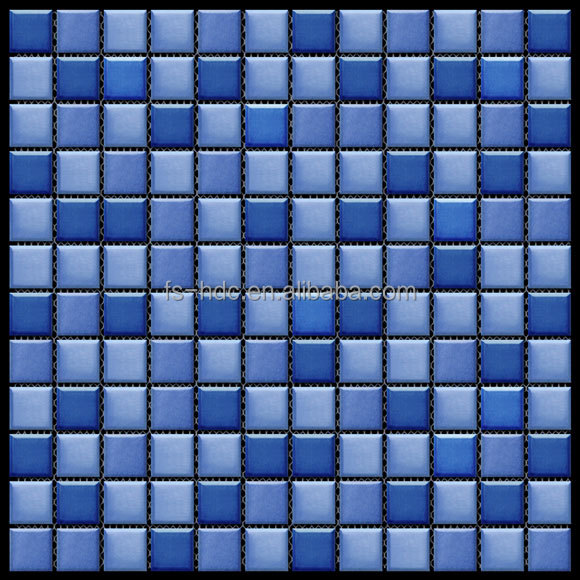 cheap tile random strip glass porcelain wall swimming fish pool bathroom dolpthin mosaic tile