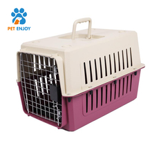 Simple Durable Fastness Pet Flight Carrier Cat Dog Cage Crate for Pet Dog Cat Transport Outdoor