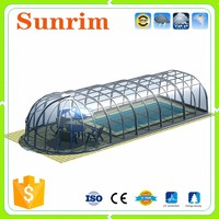 clear polycarbonate outdoor spa screen patio cover