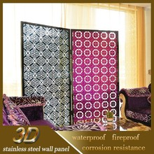 Garden Decoration Stainless Steel Color Steel Panel Wall Fence