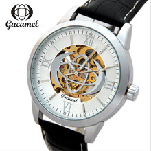 Men's Hollow Watch Fashion Business Automatic Mechanical Watches Wristwatch