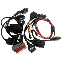 OBDII/OBD2 CDP Car Cable Diagnostic Interface 8Pcs Full Set Car Adapters Tcs CDP Pro Car cables
