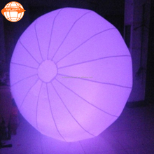 Dazzling giant inflatable crowd led ballons / balloon / ball for sale