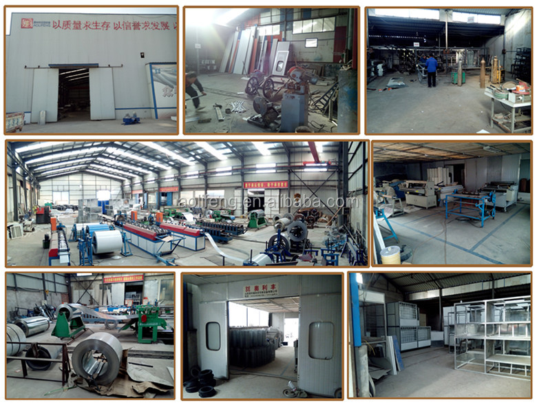 auto spray booth with water or dry curtain
