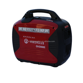 Vigorous QV2000S,2000 Rated Watts&2200 Peak Watts Portable Gasoline Digital Inverter Generator