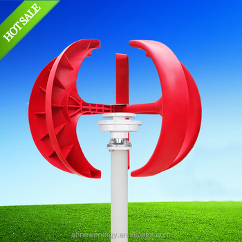 100w small wind turbine vertical micro wind generator china windmill