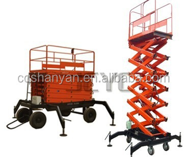 Electric Hydraulic Cargo Lift/single person vertical hydraulic lift