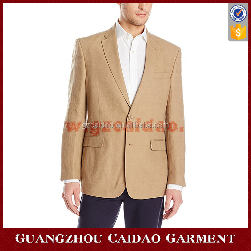 High Quality Men's Slim Fit Linen Sport Coat