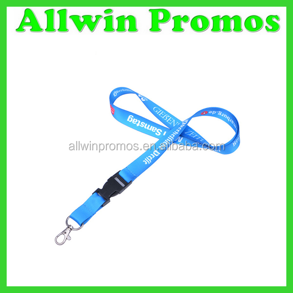 Silk Screen Branded Lanyard