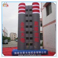 2016 New design inflatable buildings structure,inflatable advertising building,inflatable building model for sale