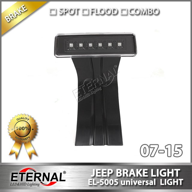 07-16 Jeep Wrangler JK CJ TJ YJ LED brake light offroad 4x4 vehicles universal brake signal warning stop light