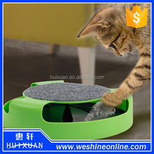 Best Selling Plastic Motion Cat Toy / interesting interactive pet toy