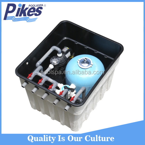 Factory supply sand filtration system integrated swimming pool filter