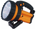 Discharging consistently 2.5h LED rechargeable portable spotlight with ROHS Approval