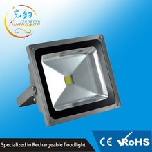 High lumen Aluminum Alloy IP65 waterproof 208V 50W led flood light