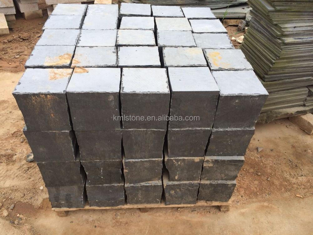 Black natural basalt stone price