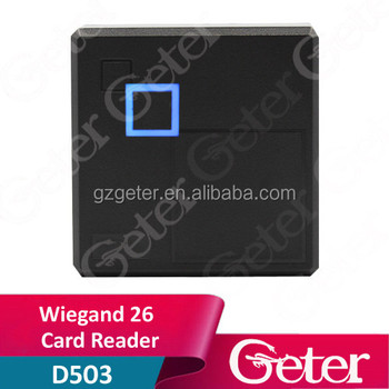Wiegand26 Waterproof 125KHz ID Card Reader K86N