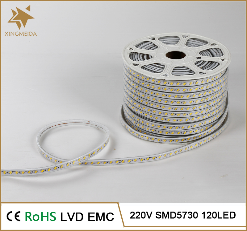 Newest High Brightness SMD 5730 35LM/LED Cheap 100M cuttable led strip light