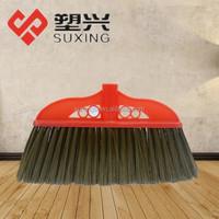 soft bristle plastic broom and mop holder