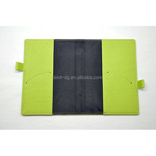 Personalizzato soft leather journal notebook copertura copertura in pvc