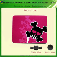 Trade assurance clear computer cases funny pc padded mouse pad