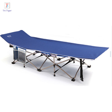 Cheap factory gray blue red Camping Bed Type Folding Camping Bed