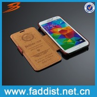 No.1 hot-selling pu flip leather case for s5 wholesale price