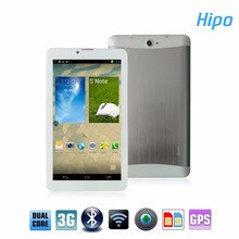Hipo Cheap 7inch CDMA Quad SIM Card GPS Navigation System Mobile Tablet PC with 3G Phone Call Function 2mp Camera