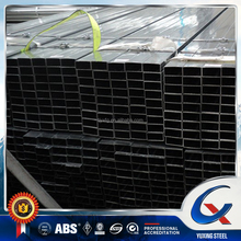 pre galvanized rectangular steel pipe/GI rectangular tube