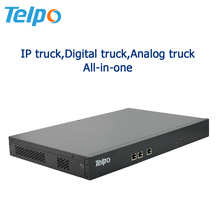 High Integrated All In One Pabx Telephone Exchange With IP/Digital/Analog Truck
